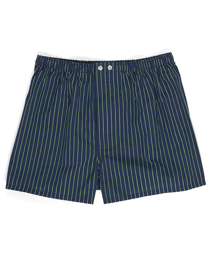 Men's Two-Fold Cotton Boxer Shorts - TF39