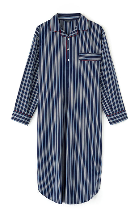 Luxury Two-Fold Nightshirt in TF33 | Bonsoir of London