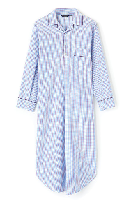 Luxury Two-Fold Nightshirt in TF34 | Bonsoir of London