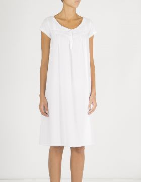 MARIE NIGHTDRESS - WHITE