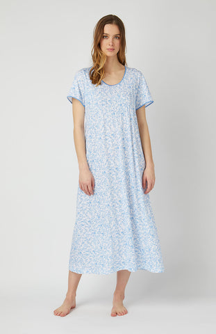 Essential Nightshirt (emnm) - Mid Blue