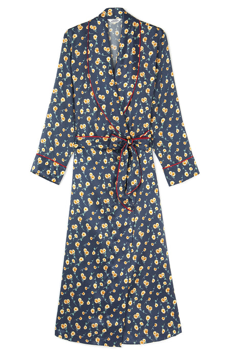Liberty Silk Dressing Gown