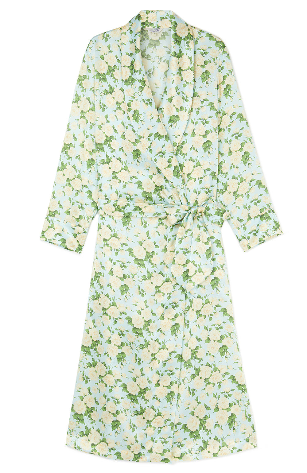 Liberty Print Silk Bathrobe