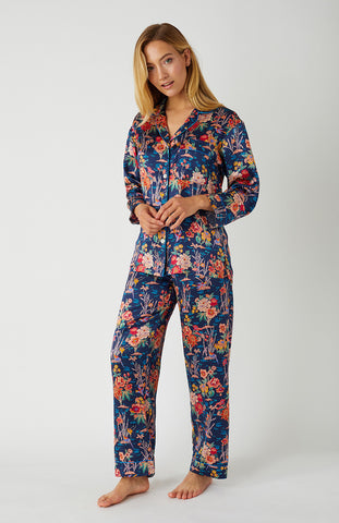 Classic Cotton Pyjamas (Clfp) - Berry Floral