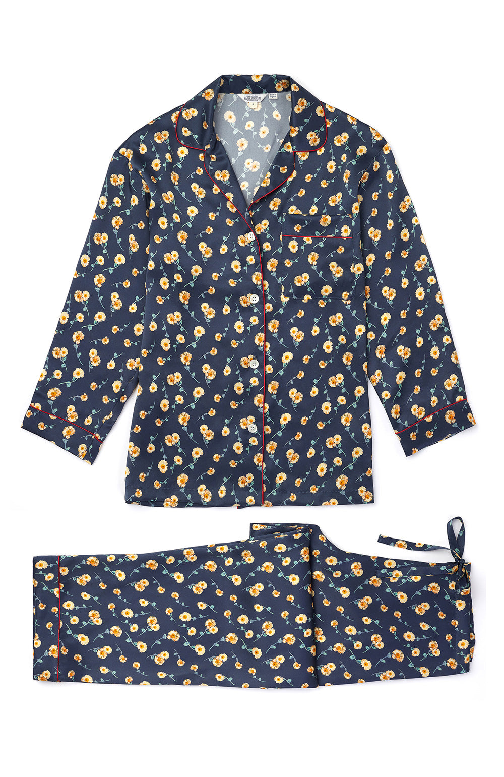 Liberty Print Silk Pyjamas