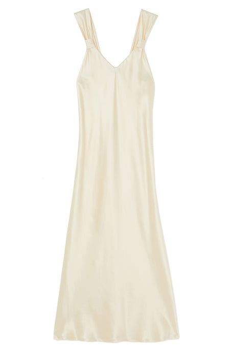 Vintage Style Pearl Silk Nightdress | Bonsoir of London