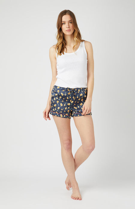 Silk Pyjama Shorts - Full