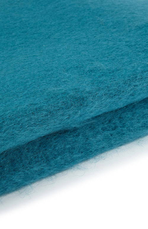 Mohair Throw (6b08) - Teal