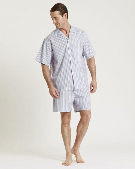 Men's Classic Cotton Short Pyjamas - (amsc a243)