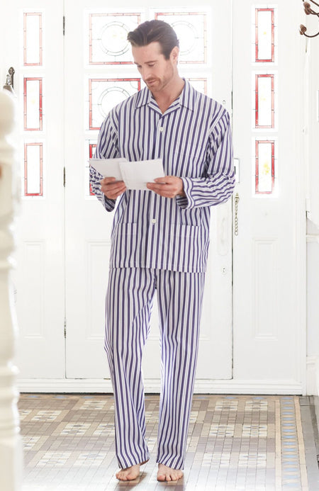 Men's Classic Cotton Pyjamas (Ampe) - A248