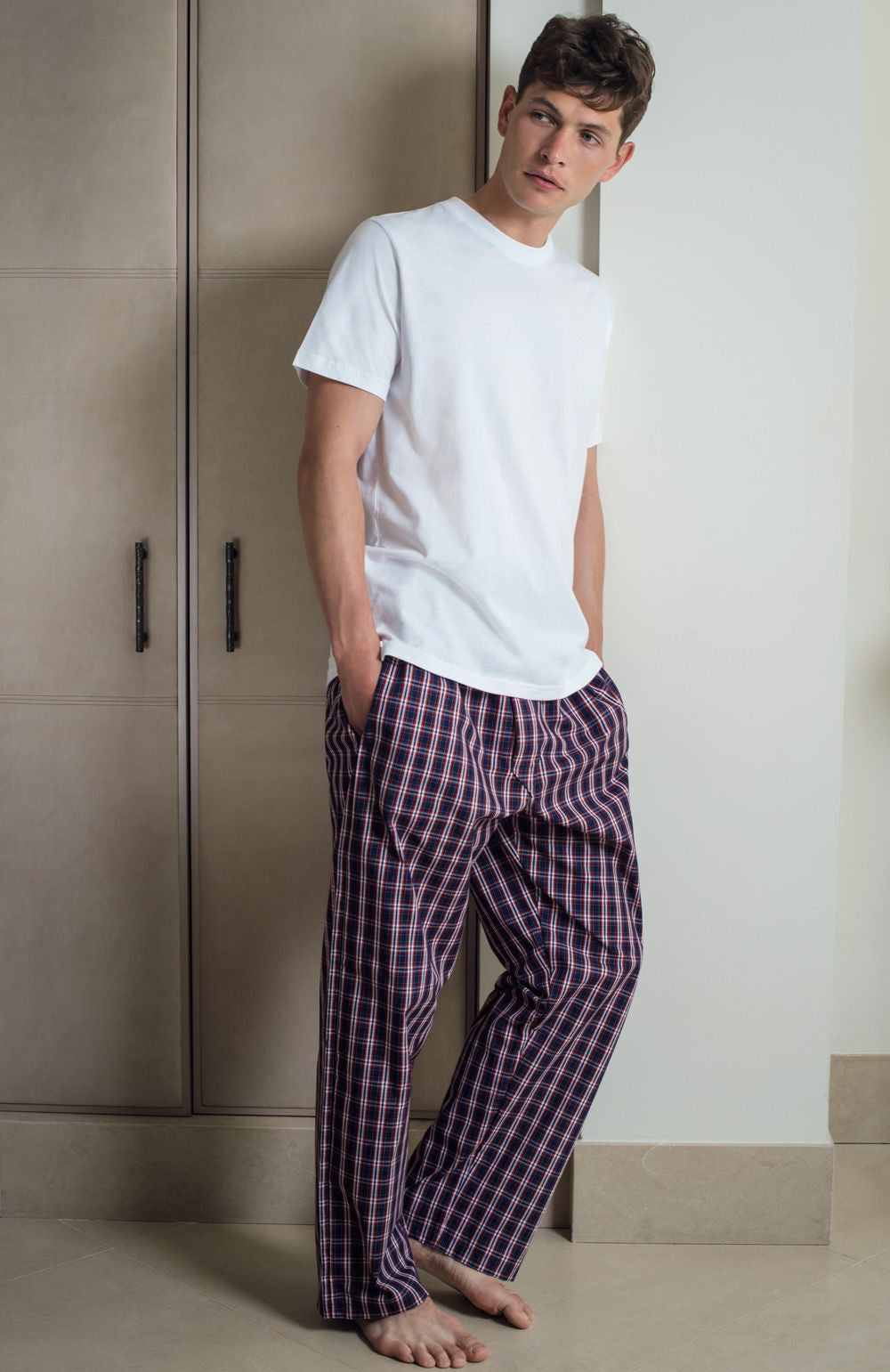 HERITAGE PYJAMA TROUSERS - A249 | Bonsoir of London
