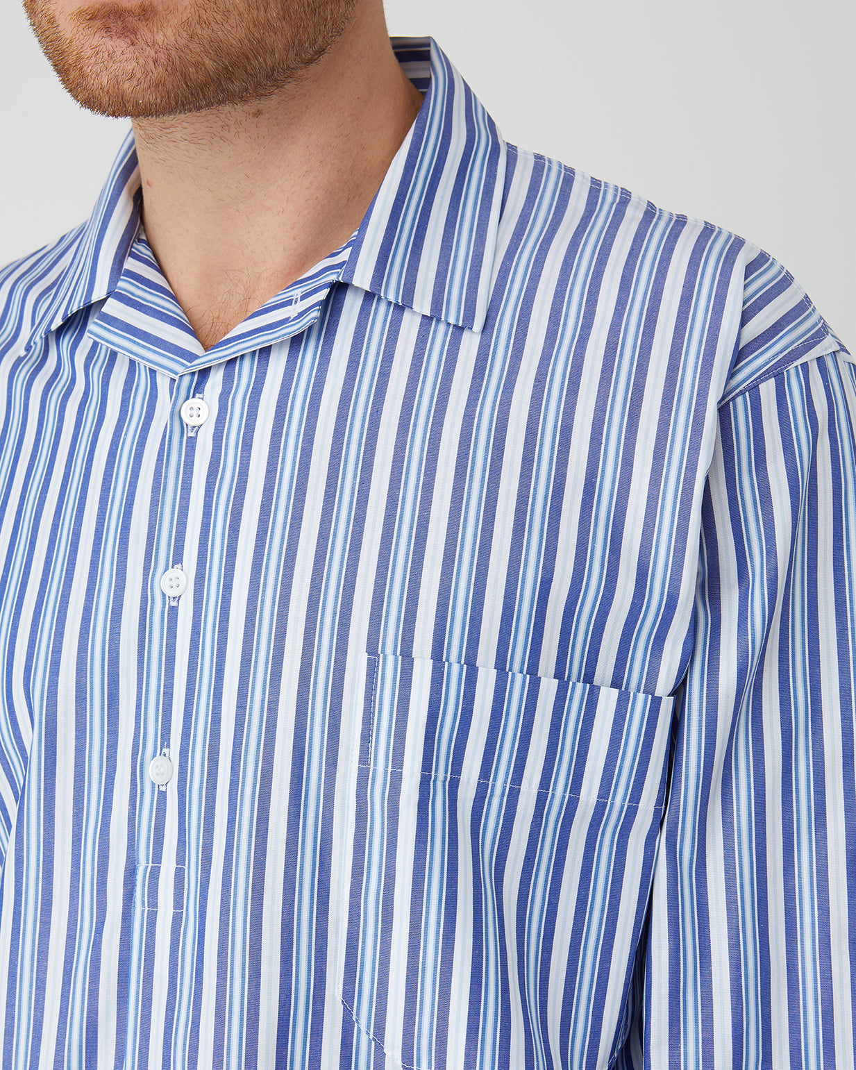 Men's Classic Cotton Nightshirt - A269