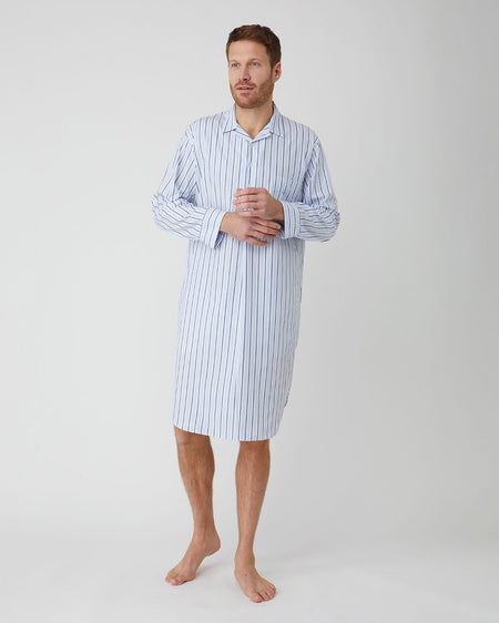 Men's Classic Cotton Nightshirt - A271