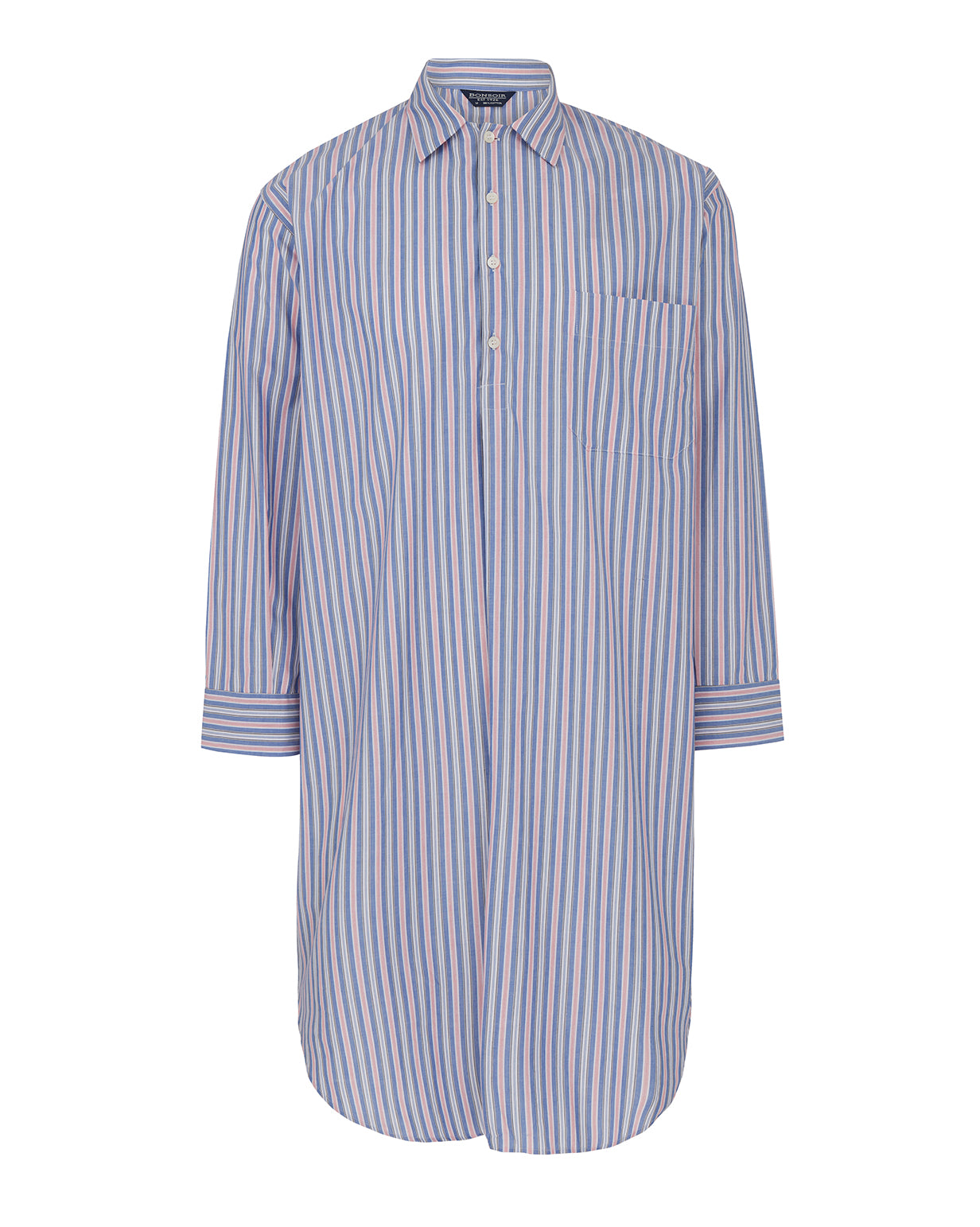 Men's Classic Cotton Nightshirt - A274