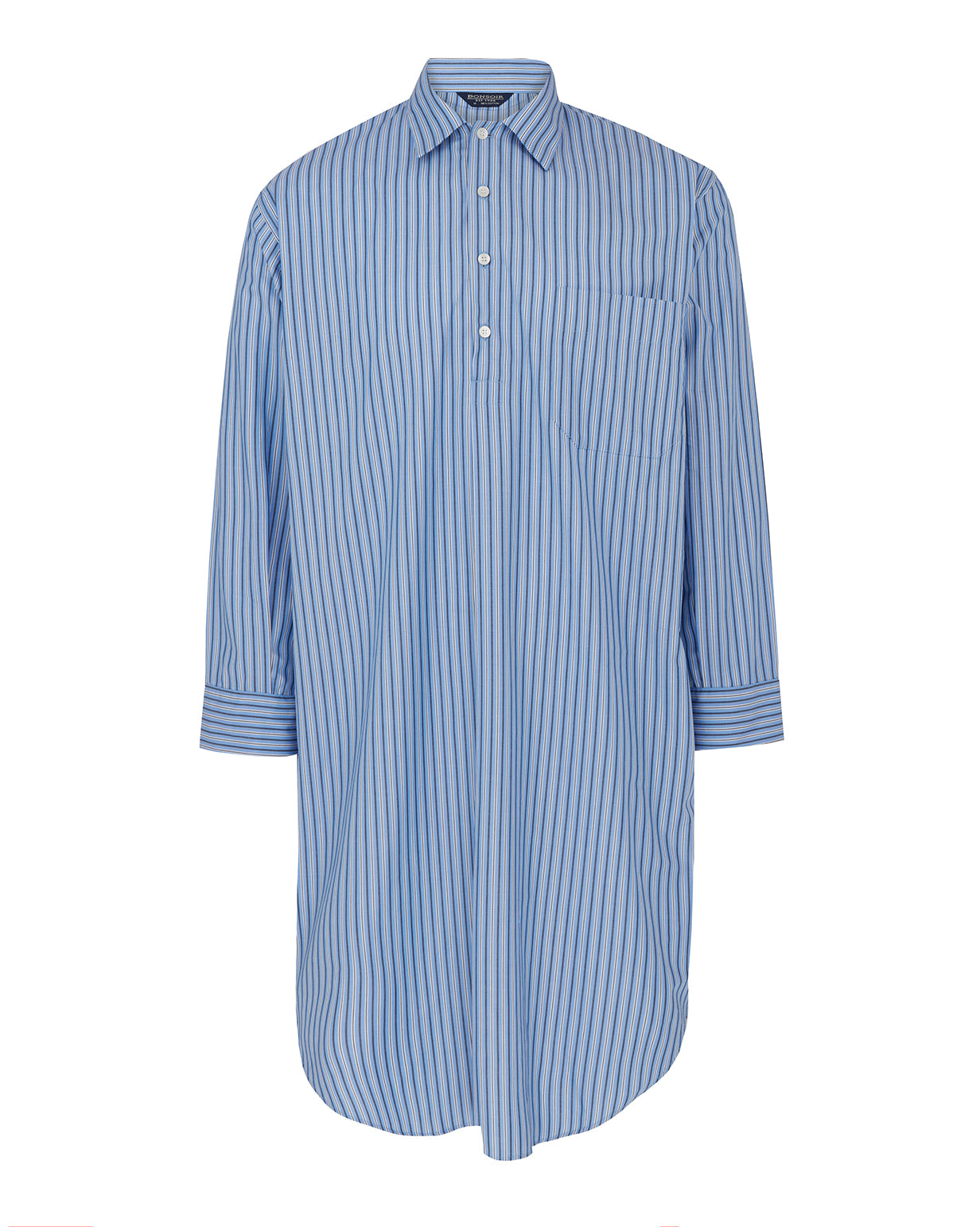 Men's Classic Cotton Nightshirt - A275