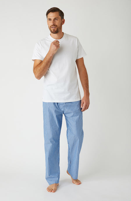Men's Classic Pyjama Trousers in A265 | Bonsoir of London
