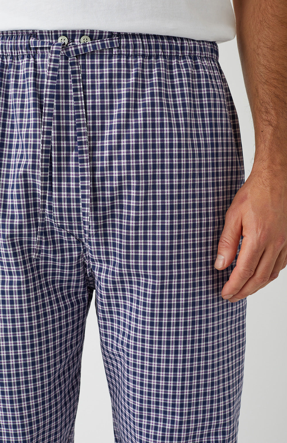 Classic Pyjama Trousers in A267 | Bonsoir of London