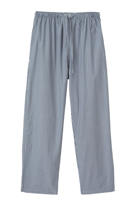 Men's Cotton Twill Pyjama Trousers | Bonsoir of London