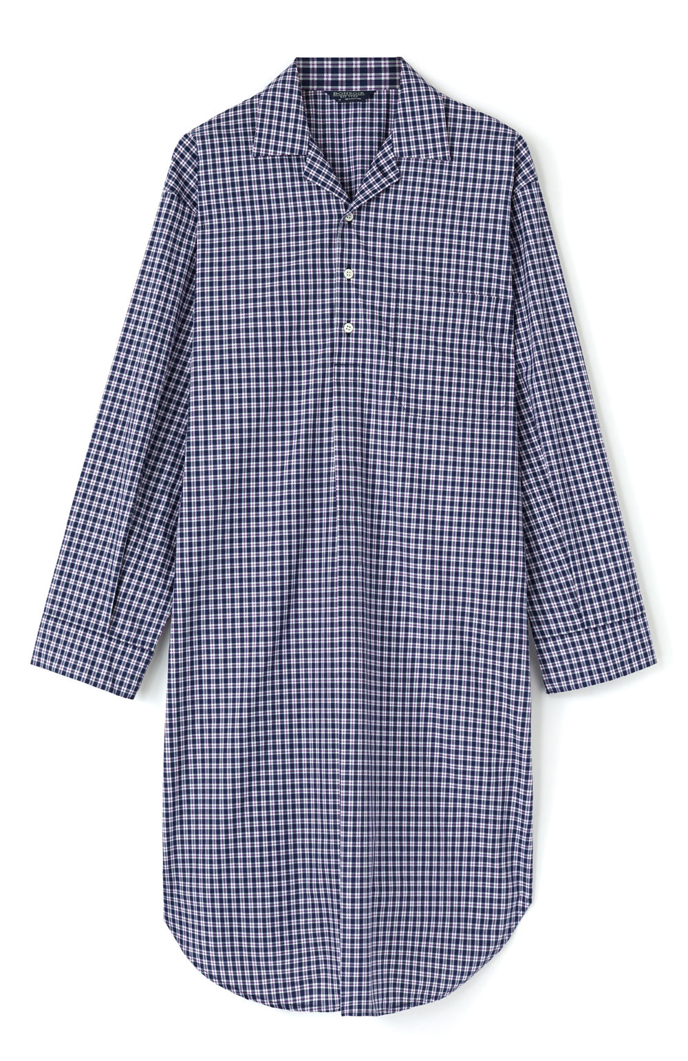 Men's Classic Nightshirt in A267 | Bonsoir of London