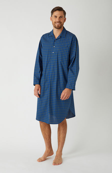 Men's Classic Nightshirt in A268 | Bonsoir of London