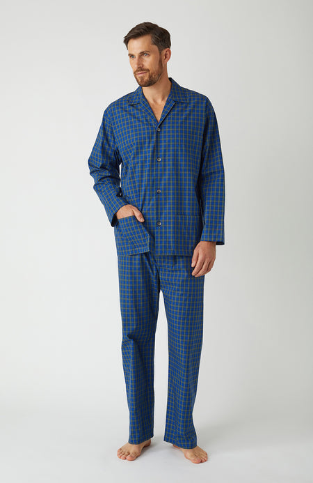Men's Classic Pyjamas in A268 | Bonsoir of London