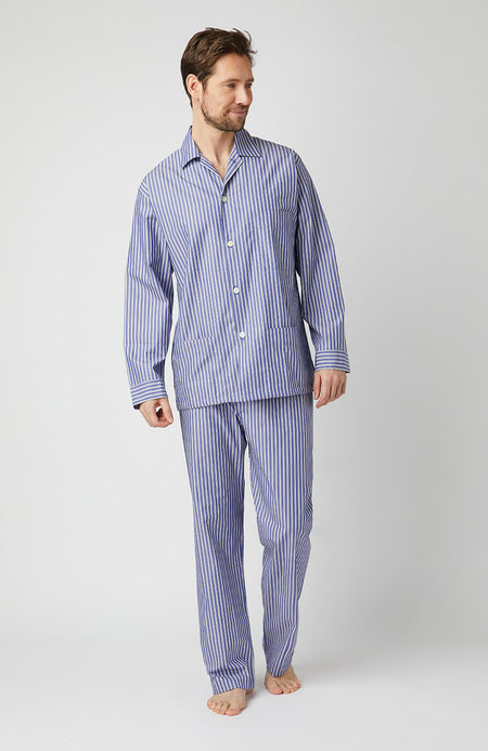 Mens Cotton Pyjamas - Full