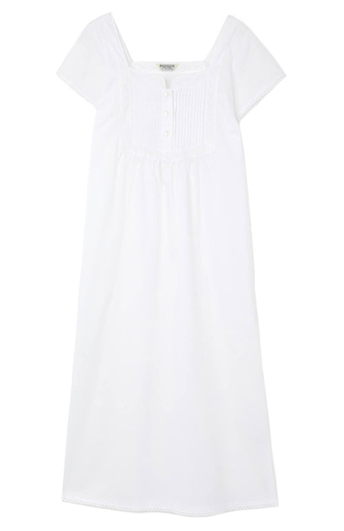 Anna Nightdress (anna) - White | Bonsoir of London