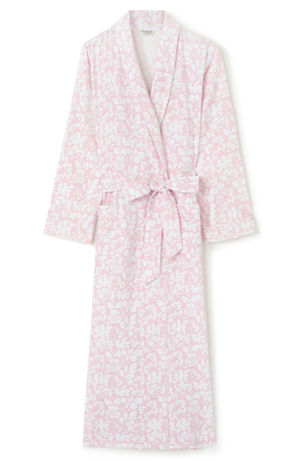 Brushed Cotton Pink Floral Gown | Bonsoir of London