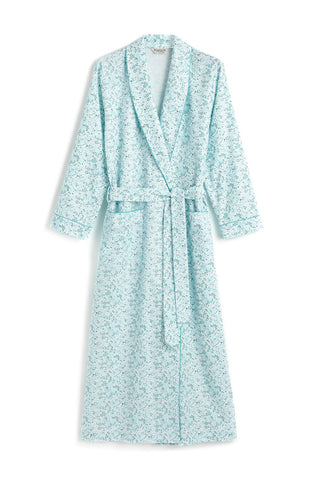 Brushed Pastel Pyjamas (blps) - Blue Paisley