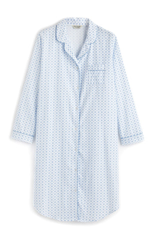 Brushed Tartan Pyjamas (tlps) - Bright Blue