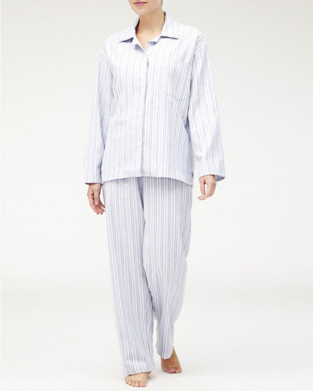 Women's Brushed Cotton Pyjamas - MS04