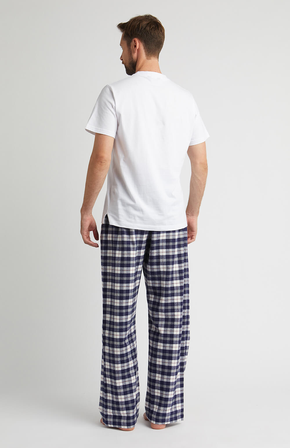 Brushed Cotton Pyjama Trousers (jm54) - McKellen | Bonsoir of London