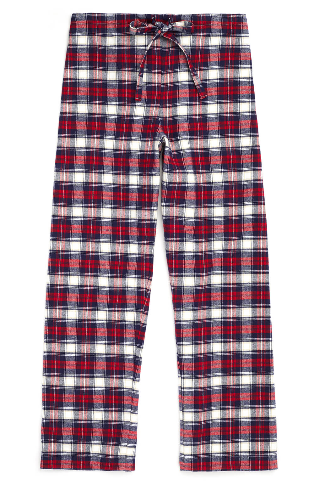 Brushed Tartan Pyjama Trousers (tltf) - Stewart | Bonsoir of London