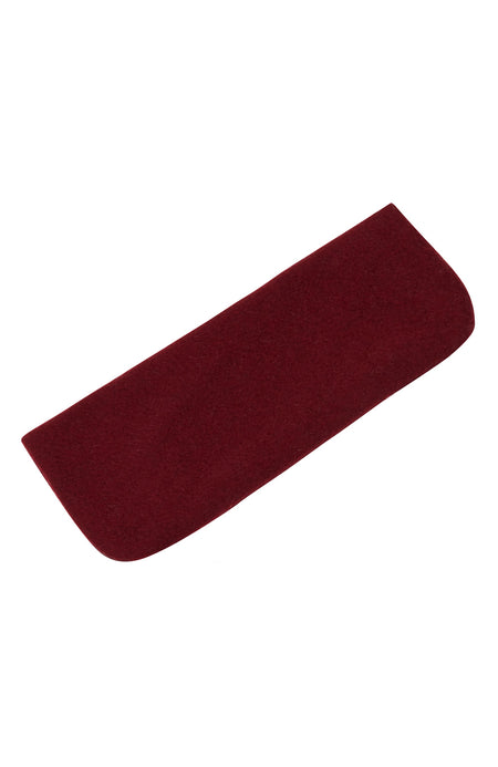 Cashmere Glasses Case (Casc) - Bordeaux