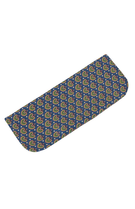 Men's Royal Motif Silk Glasses Case | Bonsoir of London