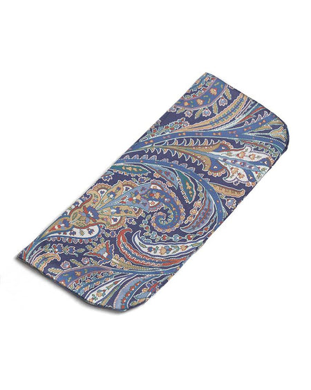 Men's Clyde Paisley Silk Glasses Case | Bonsoir of London