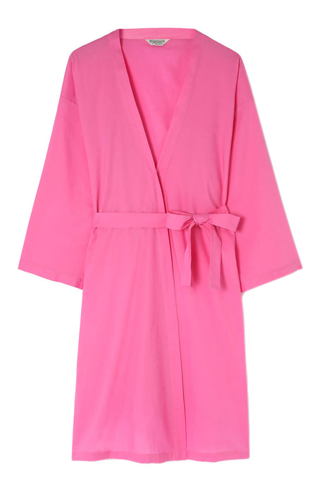 Cotton Short Gown (CL29) - Pink