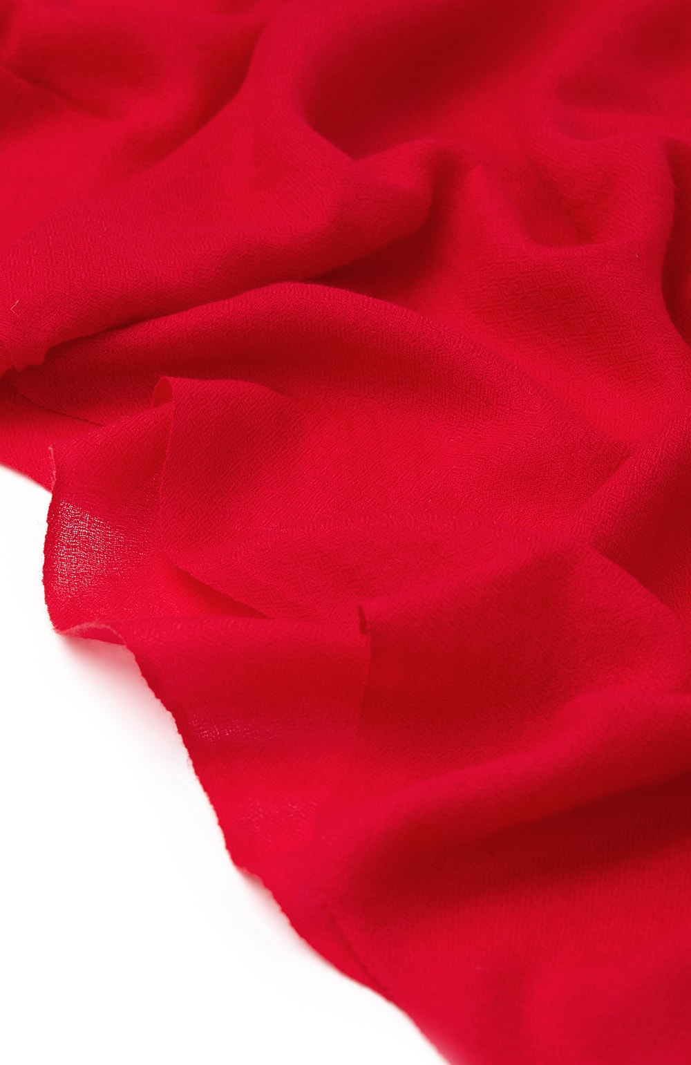 CASHMERE SCARF - RED