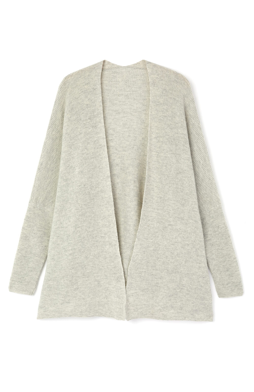Cashmere Cardi (cardi) - Grey | Bonsoir of London