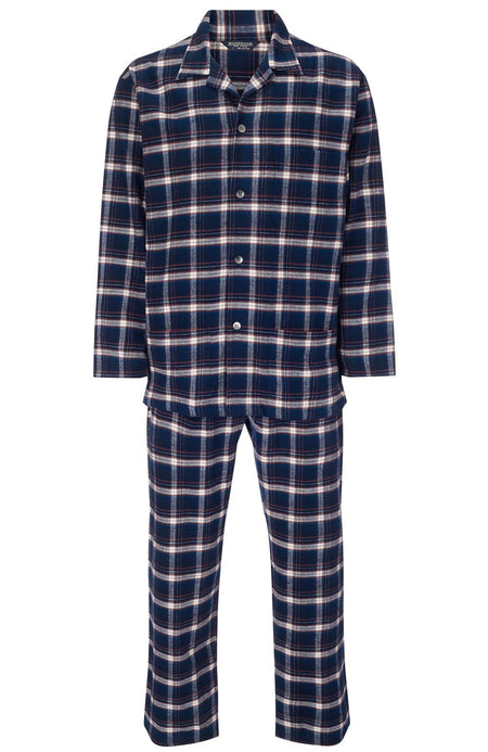 BRUSHED COTTON PYJAMAS - DRUMORE | Bonsoir of London