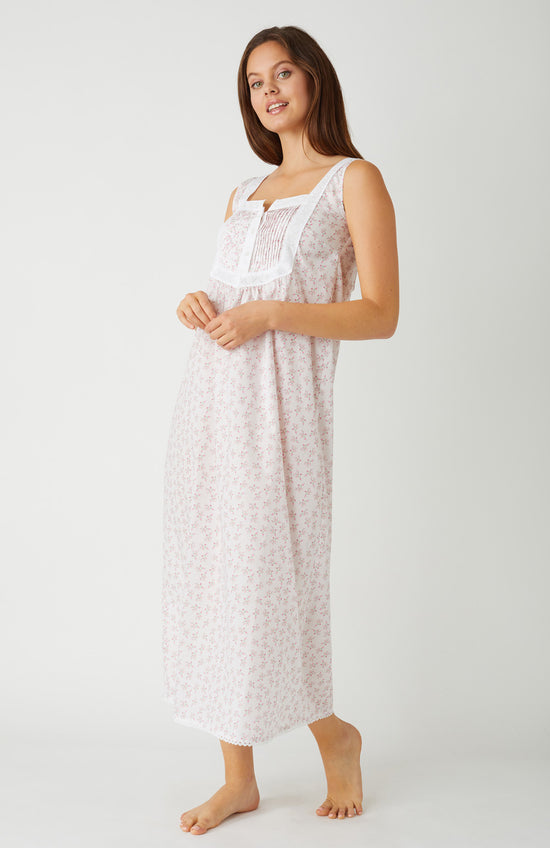 Women's Olivia Nightdress (Oliv) - Cream Posy