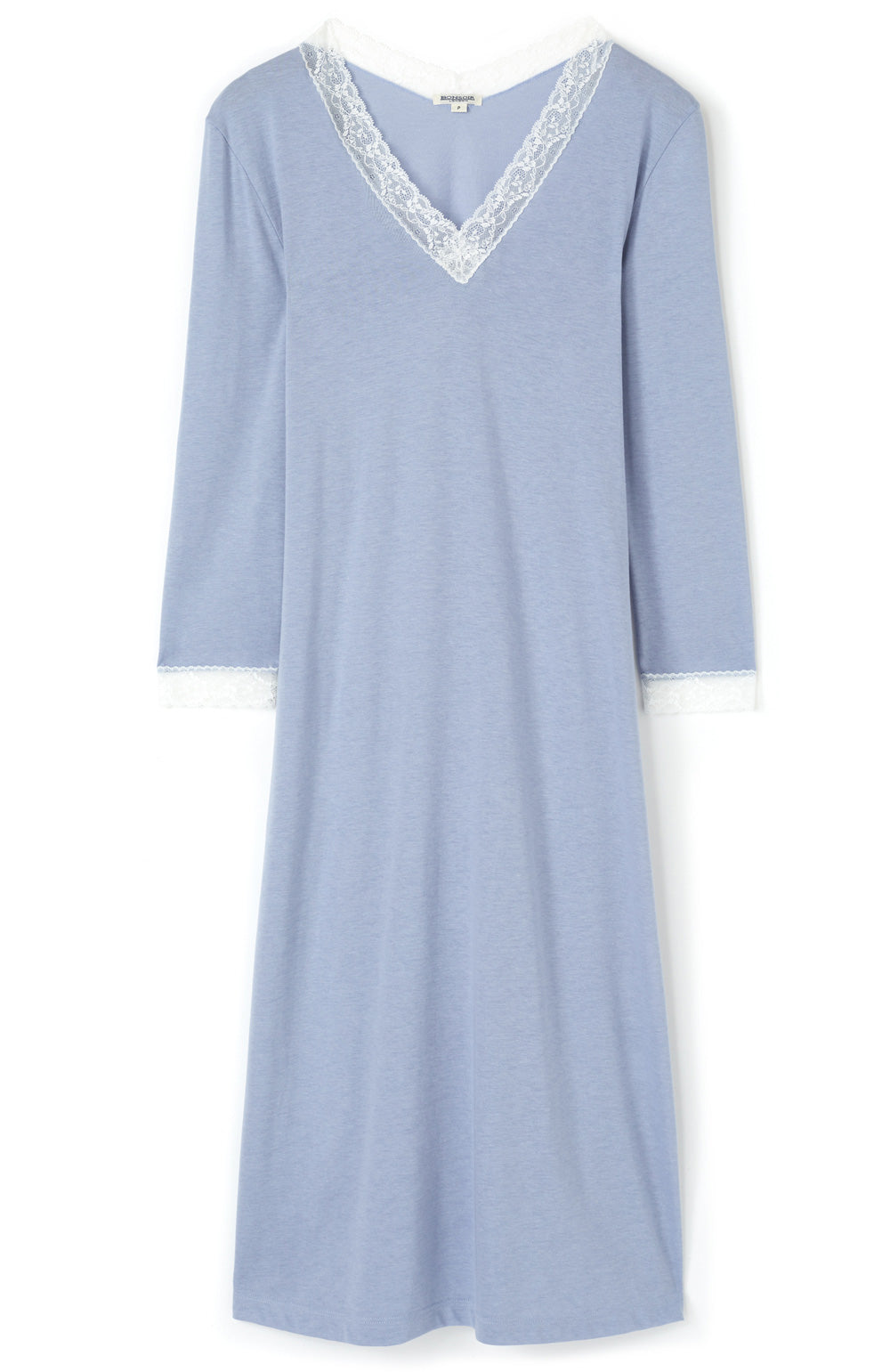 Women's Ella French Grey Nightdress | Bonsoir of London
