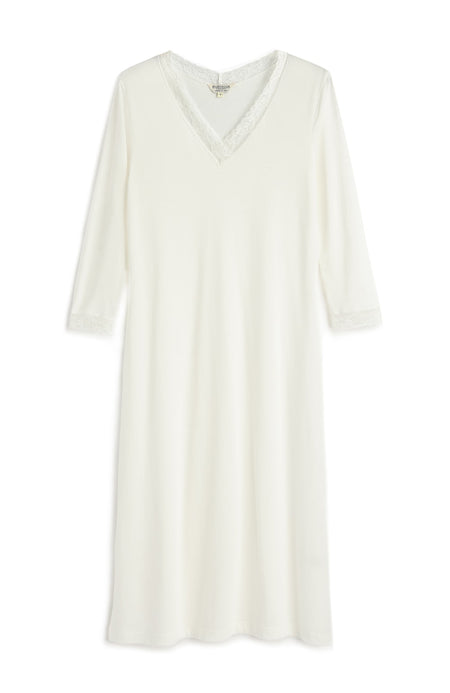 Ella Nightdress (ella) - Antique White | Bonsoir of London