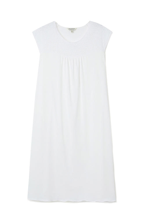 Emma Nightdress (emma) - White | Bonsoir of London