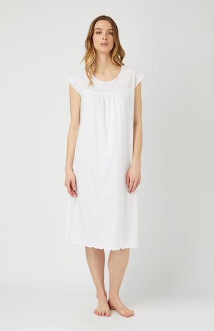 Brushed Cotton Nightshirt (Jmnm) - Farringdon