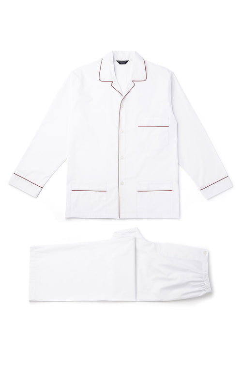 Essential Pyjamas (empe) - White | Bonsoir of London