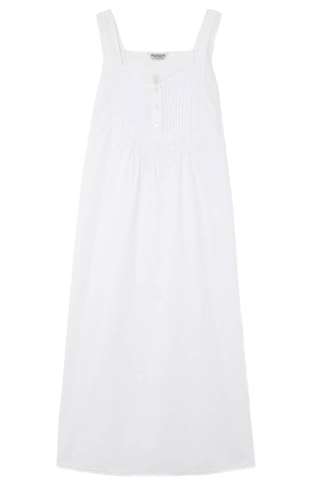 Eliza White Nightdress | Bonsoir of London