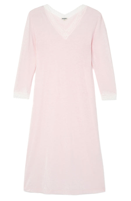 Ella Soft Pink Nightdress | Bonsoir of London