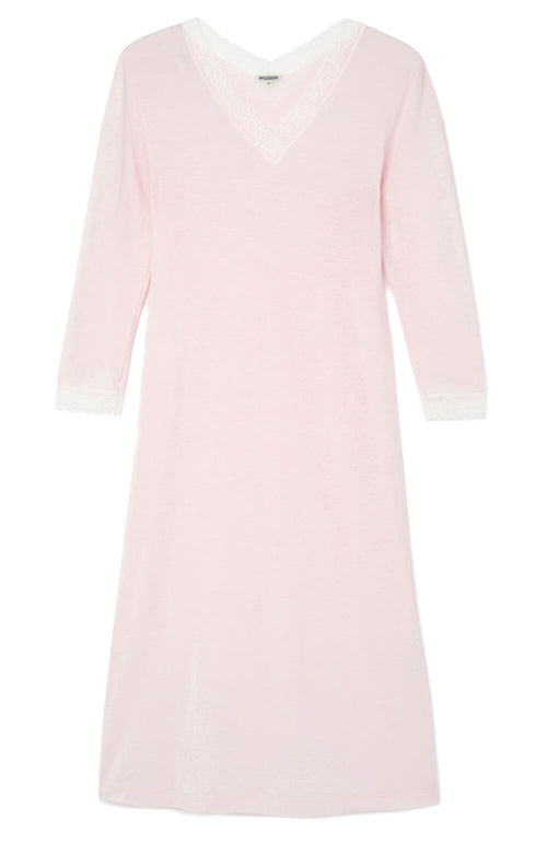 Ella Nightdress (ella) - Soft Pink | Bonsoir of London
