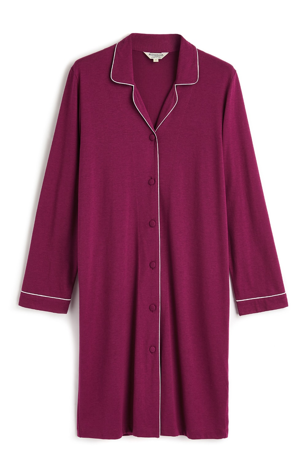 JERSEY NIGHTSHIRT - BERRY